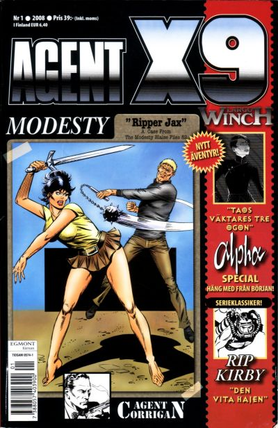 Cover for Agent X9 (Egmont, 1997 series) #1/2008
