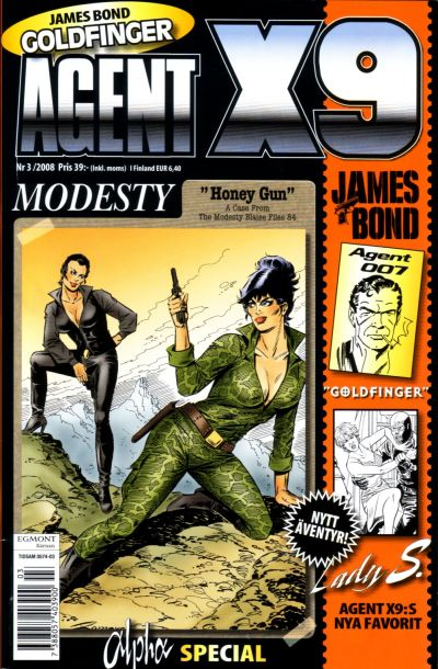 Cover for Agent X9 (Egmont, 1997 series) #3/2008