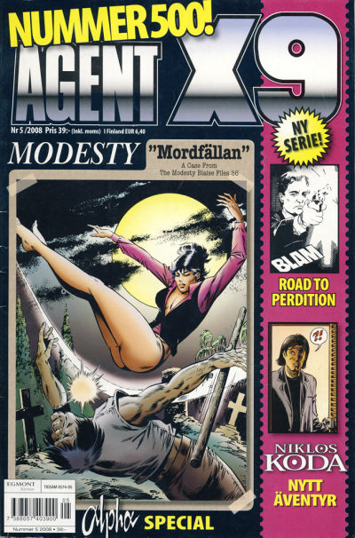 Cover for Agent X9 (Egmont, 1997 series) #5/2008