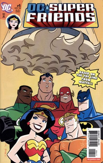 Cover for Super Friends (DC, 2008 series) #4