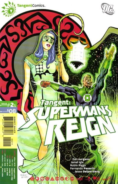 Cover for Tangent: Superman's Reign (DC, 2008 series) #2