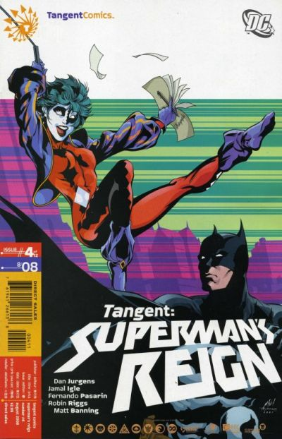 Cover for Tangent: Superman's Reign (DC, 2008 series) #4