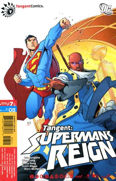 Cover for Tangent: Superman's Reign (DC, 2008 series) #7
