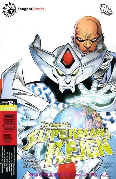 Cover for Tangent: Superman's Reign (DC, 2008 series) #12