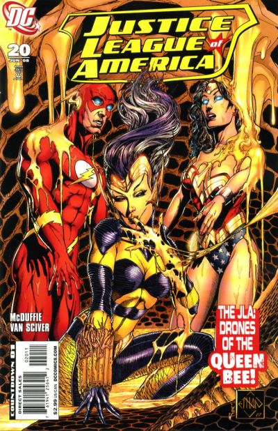 Cover for Justice League of America (DC, 2006 series) #20