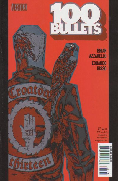 Cover for 100 Bullets (DC, 1999 series) #87