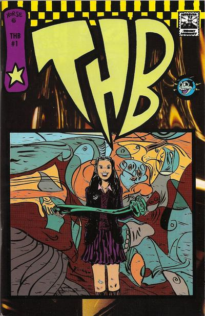 Cover for THB (Horse Press, 1994 series) #1 [Vol. 2 - 2nd Print]