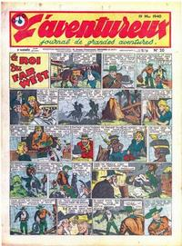 Cover Thumbnail for L'Aventureux (Editions Mondiales, 1936 series) #20/1940