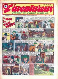 Cover Thumbnail for L' Aventureux (Editions Mondiales, 1936 series) #21/1940