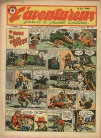 Cover Thumbnail for L' Aventureux (Editions Mondiales, 1936 series) #24/1940