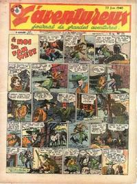 Cover Thumbnail for L' Aventureux (Editions Mondiales, 1936 series) #25/1940