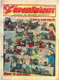 Cover Thumbnail for L' Aventureux (Editions Mondiales, 1936 series) #26/1940