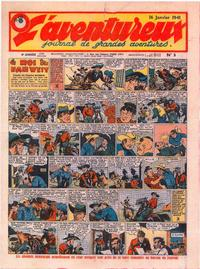Cover Thumbnail for L' Aventureux (Editions Mondiales, 1936 series) #3/1941
