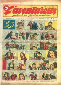 Cover Thumbnail for L'Aventureux (Editions Mondiales, 1936 series) #5/1941