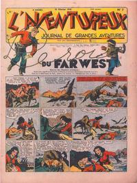 Cover Thumbnail for L' Aventureux (Editions Mondiales, 1936 series) #7/1941