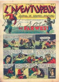 Cover Thumbnail for L'Aventureux (Editions Mondiales, 1936 series) #12/1941