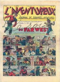 Cover Thumbnail for L'Aventureux (Editions Mondiales, 1936 series) #18/1941