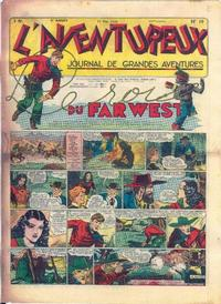 Cover Thumbnail for L'Aventureux (Editions Mondiales, 1936 series) #19/1941