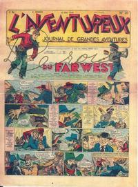 Cover Thumbnail for L' Aventureux (Editions Mondiales, 1936 series) #20/1941