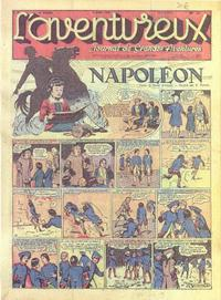 Cover Thumbnail for L' Aventureux (Editions Mondiales, 1936 series) #27/1941