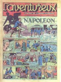 Cover Thumbnail for L' Aventureux (Editions Mondiales, 1936 series) #28/1941