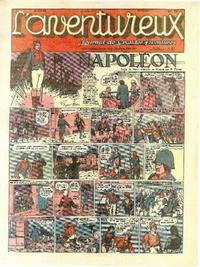 Cover Thumbnail for L' Aventureux (Editions Mondiales, 1936 series) #35/1941