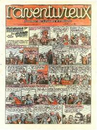 Cover Thumbnail for L' Aventureux (Editions Mondiales, 1936 series) #37/1941