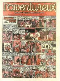 Cover Thumbnail for L' Aventureux (Editions Mondiales, 1936 series) #40/1941