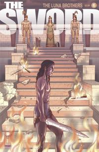 Cover for The Sword (Image, 2007 series) #6