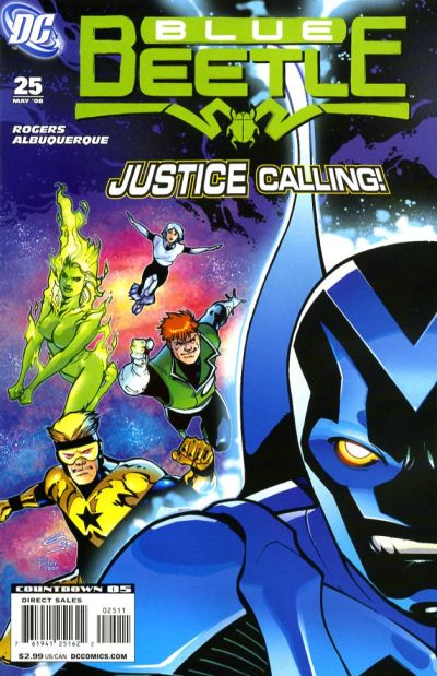 Cover for The Blue Beetle (DC, 2006 series) #25