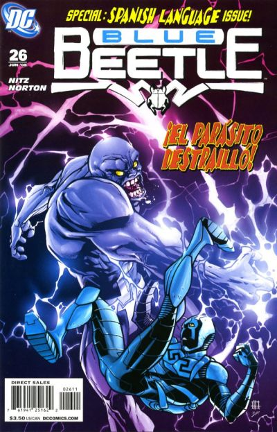 Cover for The Blue Beetle (DC, 2006 series) #26