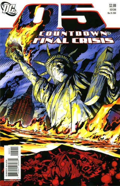 Cover for Countdown (DC, 2007 series) #5