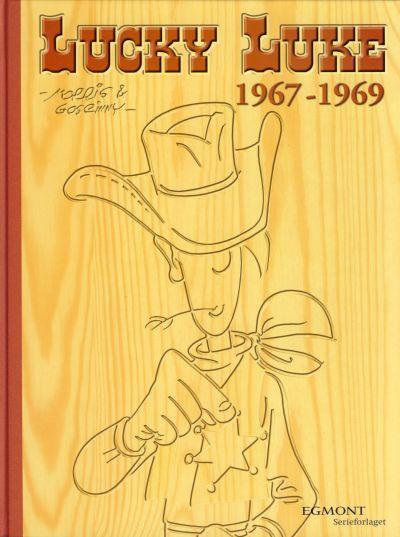 Cover for Lucky Luke boksamling (Hjemmet / Egmont, 2003 series) #1967-1969