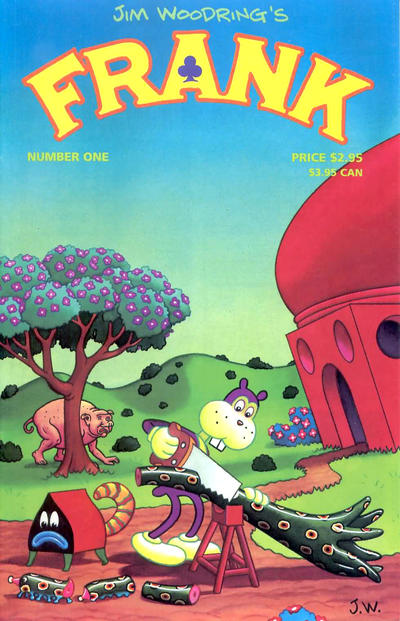 Cover for Frank (Fantagraphics, 1996 series) #1