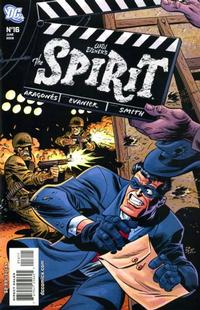Cover Thumbnail for The Spirit (DC, 2007 series) #16