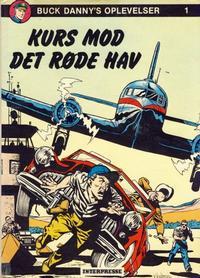 Cover Thumbnail for Buck Danny (Interpresse, 1977 series) #1 - Kurs mod det røde hav
