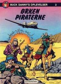 Cover Thumbnail for Buck Danny (Interpresse, 1977 series) #2 - Ørkenpiraterne
