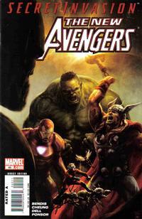 Cover Thumbnail for New Avengers (Marvel, 2005 series) #40 [Standard Cover]