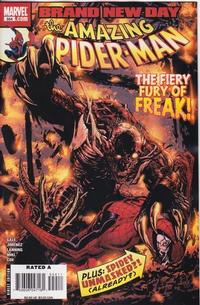 Cover for The Amazing Spider-Man (Marvel, 1999 series) #554
