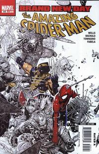 Cover Thumbnail for The Amazing Spider-Man (Marvel, 1999 series) #555 [Direct Edition]