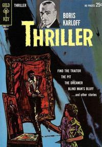 Cover Thumbnail for Boris Karloff Thriller (Western, 1962 series) #2
