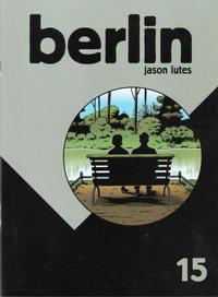 Cover for Berlin (Drawn & Quarterly, 1998 series) #15
