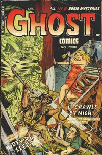Cover Thumbnail for Ghost Comics (Fiction House, 1951 series) #9