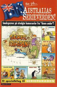 Cover Thumbnail for Australias serieverden! [Bilag til Serieparaden] (Hjemmet / Egmont, 2001 series)