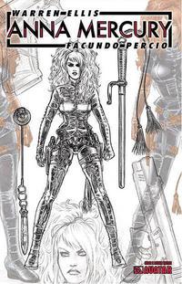 Cover Thumbnail for Anna Mercury (Avatar Press, 2008 series) #2 [Design Sketch]