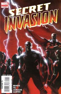Cover Thumbnail for Secret Invasion (Marvel, 2008 series) #1 [Gabriele Dell'Otto Standard Cover]