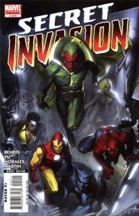 Cover Thumbnail for Secret Invasion (Marvel, 2008 series) #2 [Standard Cover]