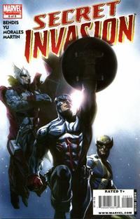 Cover Thumbnail for Secret Invasion (Marvel, 2008 series) #8 [Standard Cover]