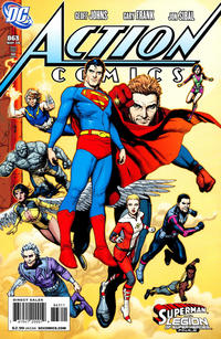 Cover Thumbnail for Action Comics (DC, 1938 series) #863 [Direct]