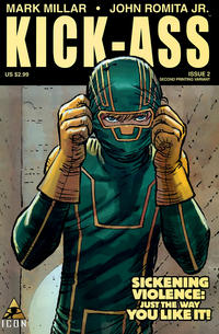 Cover Thumbnail for Kick-Ass (Marvel, 2008 series) #2